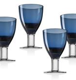 Galley Cobalt Goblets S/4