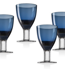 Galley Cobalt Goblets S/4