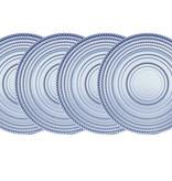 Lumina Blue Dinner Plate S/4