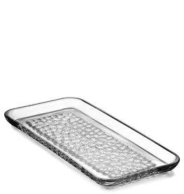 Orrefors mm 2019 Pearl Rectangle Platter