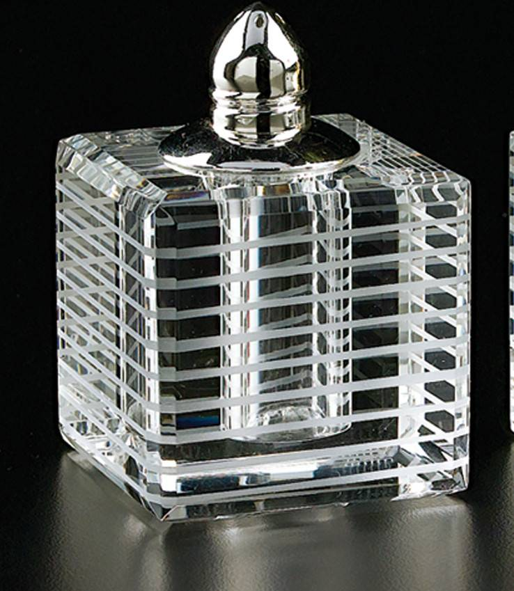 Horizontal Lines Silver S&P shakers