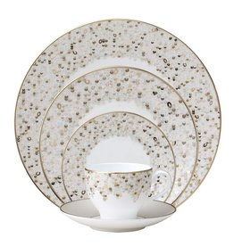 Nikko Spangles White 5 pc Dinner set