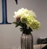 Mod Vase with Hydrangeas