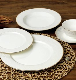 Stardust Gold 20pc Dinnerware Set
