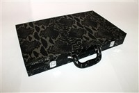 Python Black Backgammon set
