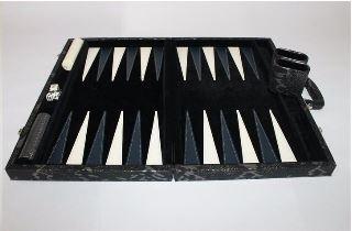 Python Black Backgammon set