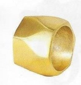 bodrum Arch Gold Napkin Rings Set of 4
