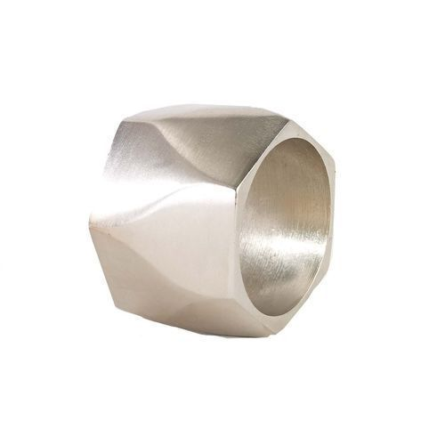 bodrum Arch Silver Napkin Rings Set of 4