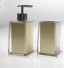 Gold Acrylic Soap Dispenser
