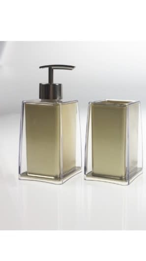 Gold Acrylic Soap Dispenser