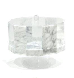 Hexagon Marble Cake Dome