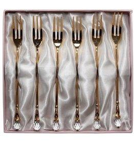 Gold Dessert fork