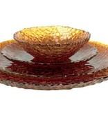 Artland Dapple Amber set of 12