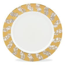Michael Wainwright Tempio Luna Gold Dinner plate