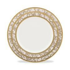 Michael Wainwright Tempio Luna gold salad plate