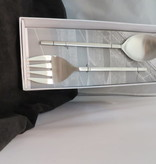 Duo Stainless Steel Serving Spoons