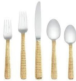 Michael Wainwright Manhattan gold Flatware
