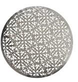 Harman Laser cut vinyl silver placemat
