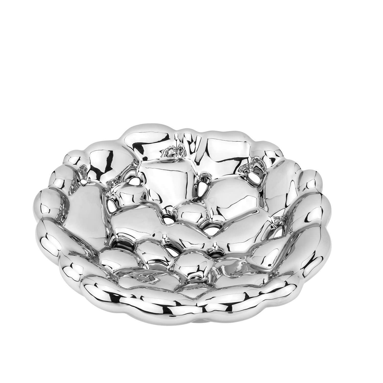 Silver Round Centerpiece Bowl