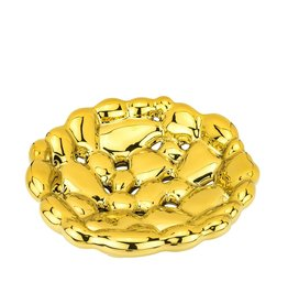 Gold Round Centerpiece Bowl