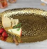 XLarge Gold Rectangle Ceramic Tray