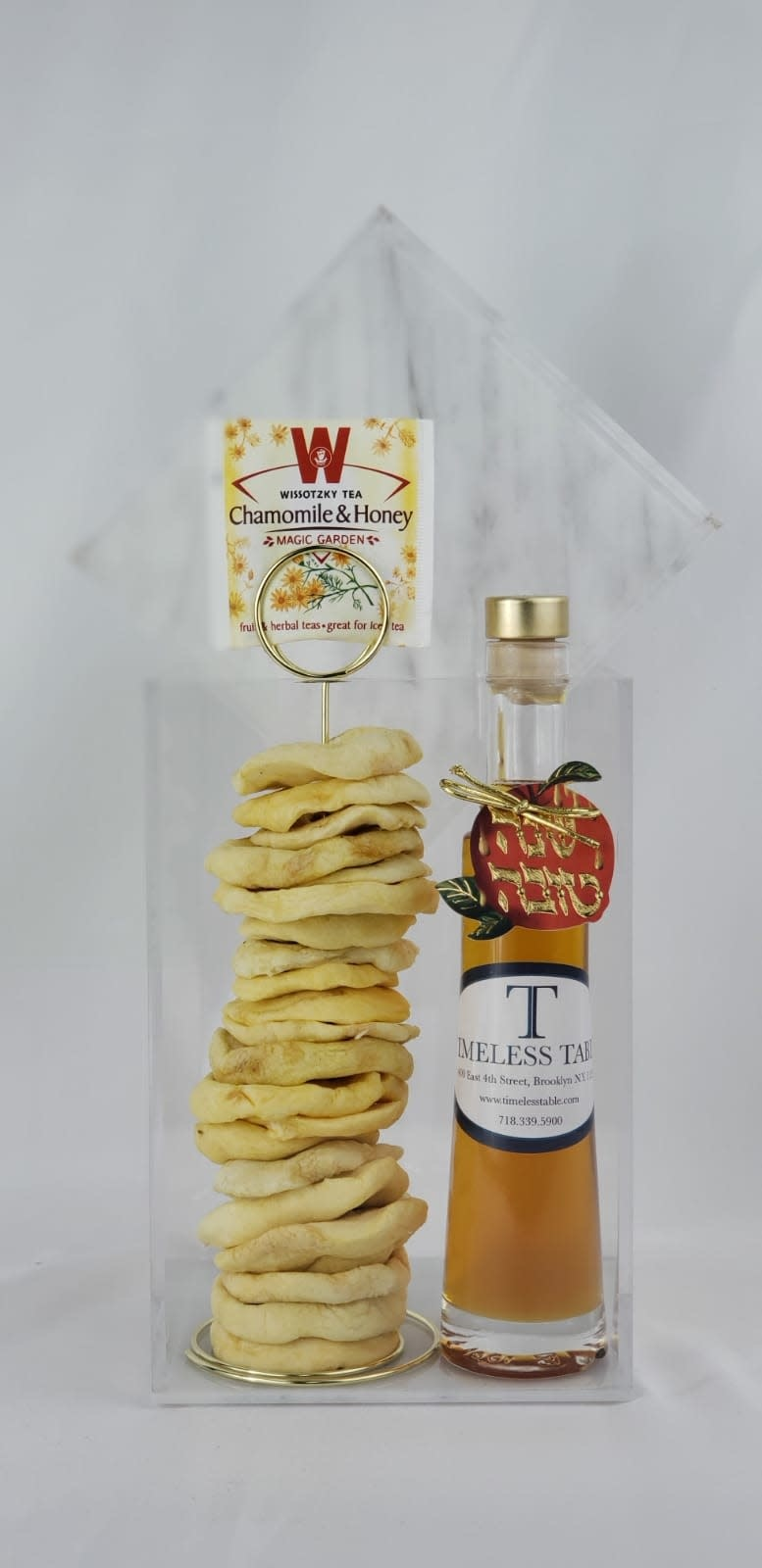 Cookie Jar with Honey & Apples