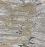 Jacquard Ivory/Grey/Gold TC1304 70 x 120 Tablecloth