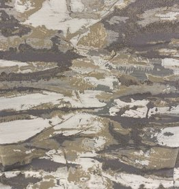 Jacquard Ivory/Grey/Silver TC1303 70 x 120 Tablecloth