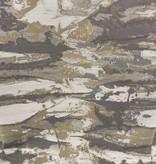 Jacquard Ivory/Grey/Silver TC1303 70 x 144 Tablecloth