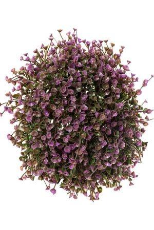"""Bell flower purple 7"""""""