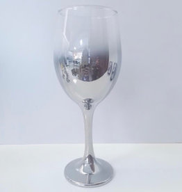 Silver Red Wine Glass 14 oz set of 4