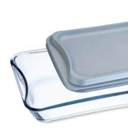 Simax Rectangular Glass w/ plastic lid