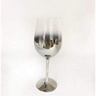 Silver White Wine Glass 17.5 oz s/4