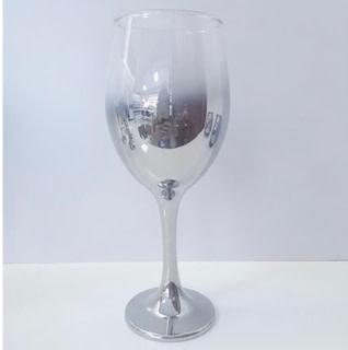 Silver White Wine Glass 11.5 oz s/4