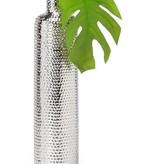 Helio Hammered 15.5H Tower Bottle Vase