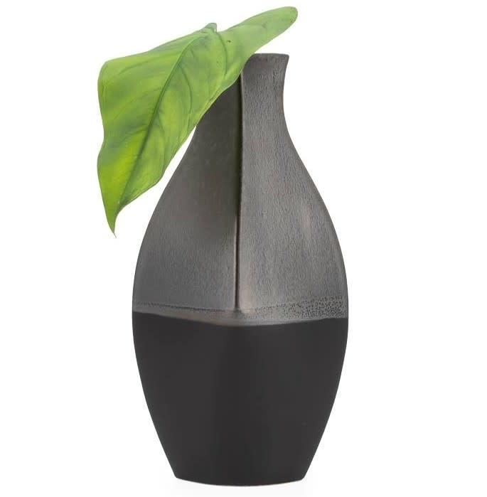 Tango 2 Tone 16.5H Bulb Vase