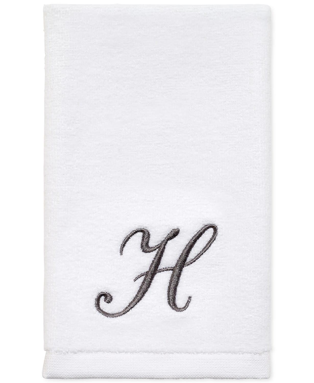 H- Monogrammed Lotion Pump and Fingertip Set