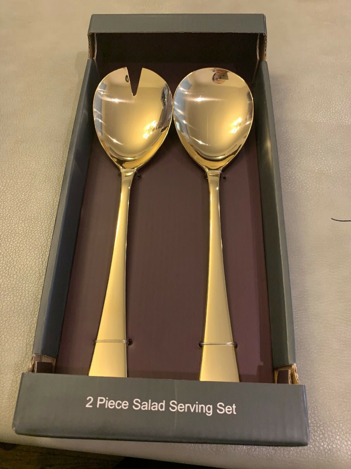 Bonjour Gold Serving Spoons