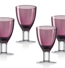 Galley Blush Goblets S/4