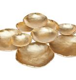 Godinger Silver Art Co Gold 10 Bowl Cluster