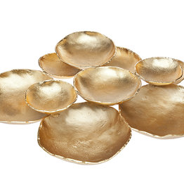 Godinger Silver Art Co Gold 10 Bowl Cluster