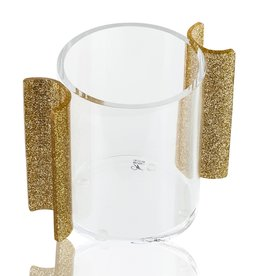 Waterdale Collection U Collection Gold Glitter Washing Cup
