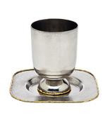 Golden Frost Kiddush Cup