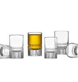 Latitude Shot Glasses Set of 6