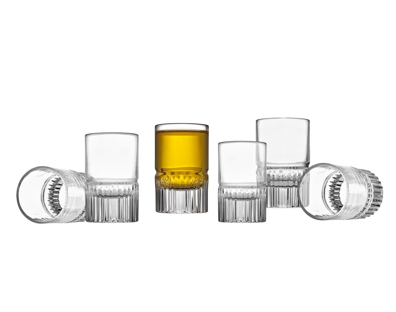 Latitude Shot Glasses Set of 6