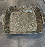 "15.75""  Rectangle Silver Inside Oven to Table Dish"