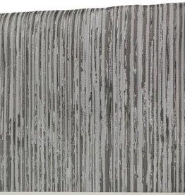 TC1204- 70 x 108 Jacquard Silver Lines Tablecloth