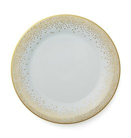 Pickard china Kelly Wearstler trousdale gold dinner plate
