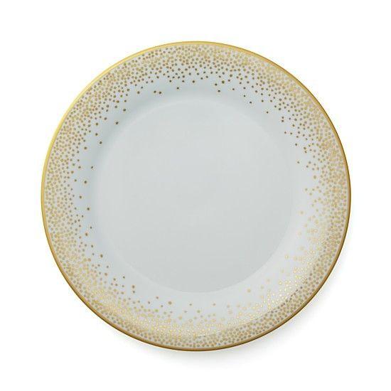 Pickard china Kelly Wearstler trousdale gold dinner plate