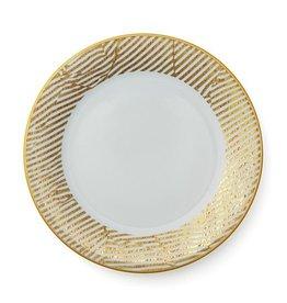 Pickard china Kelly Wearstler Bedford White Dinner Plate